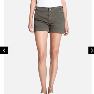 James Jeans Olivia Trouser Shorts In Deep Army